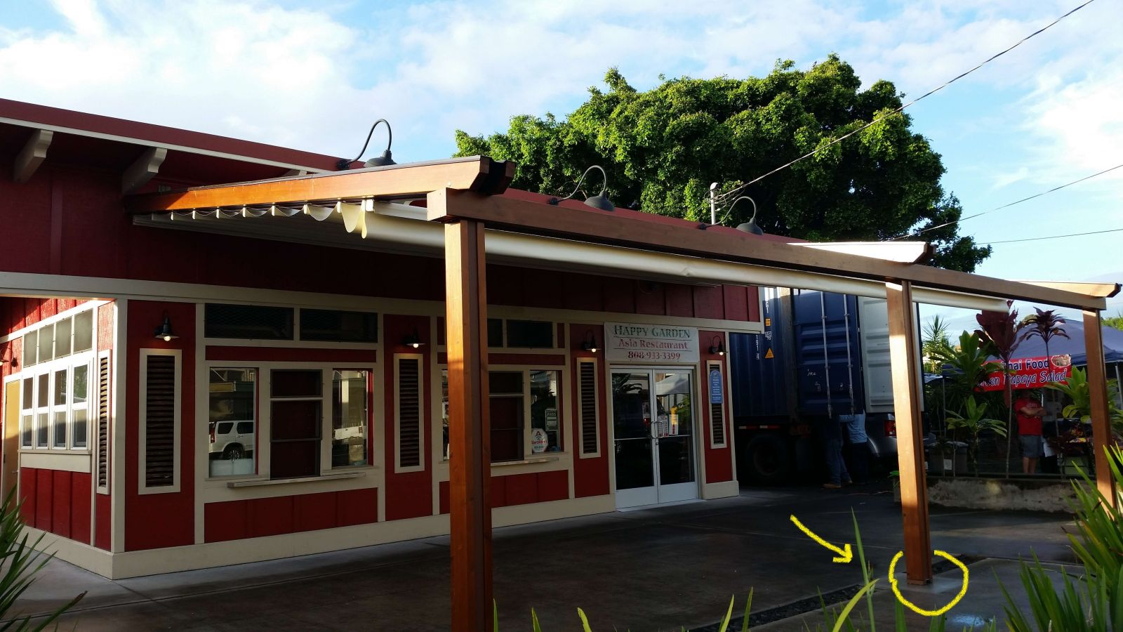 Wood Plus Retractable Fabric Pergola Commercial Sunair Awning