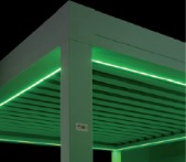 Green LED strips for Sunair Pergola structure.jpg