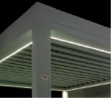 White LED strips for Sunair Pergola structure.jpg