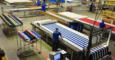 SUNAIR manufacturing plant interior