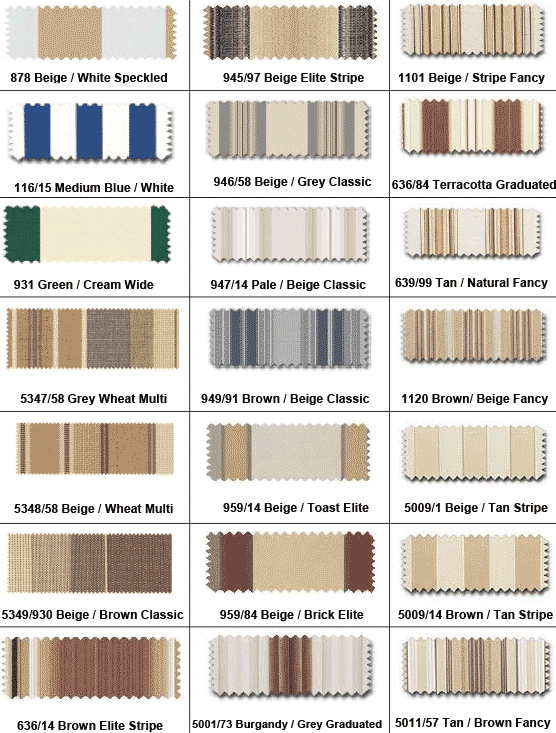 Maryland Para Acrylic Awning Fabrics Retractable Deck