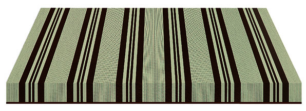 gray and black striped fabric swatch