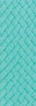 blue green fabric sample