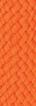 orange fabric sample