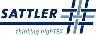 Sattler logo in blue and light blue