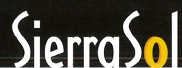 Sierra sol logo with yellow black and white