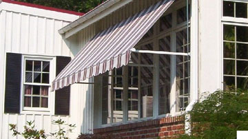 Retractable Awnings Amp Canopies In Maryland Sunair Awnings