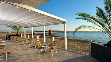 Pergola® Retractable Fabric Roof Awnings