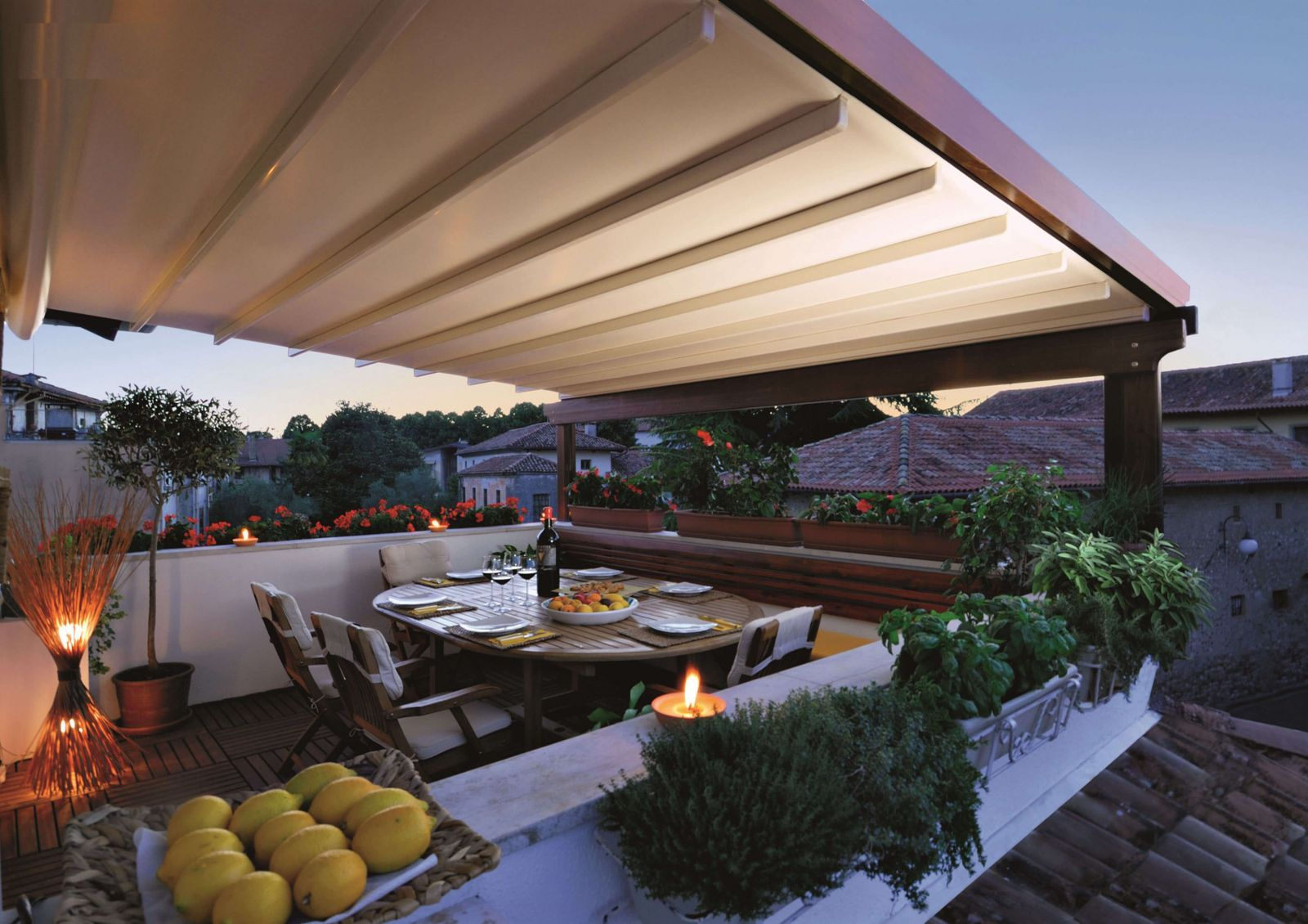 The Wood Plus Pergola® in A Residential Space ...