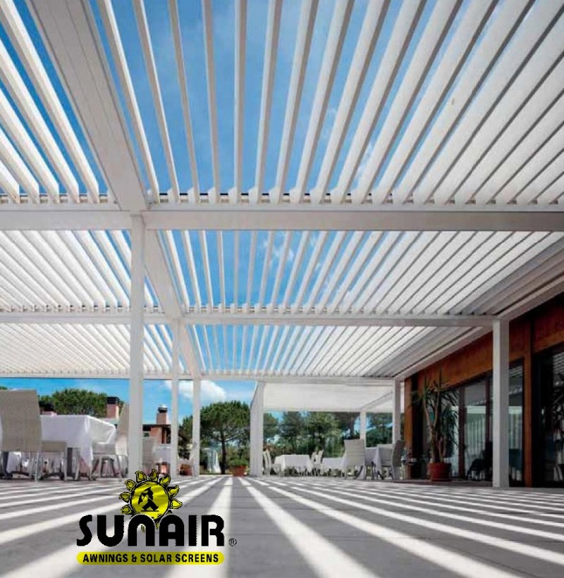 Pergola Louvered Structures Commercial