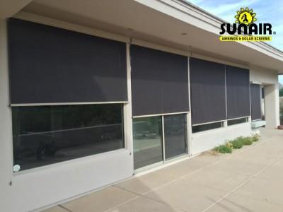Solar Screens Exterior Retractable Gallery