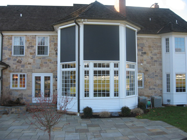 Exterior Rolling Screens | Retractable Deck & Patio Awnings | SUNAIR