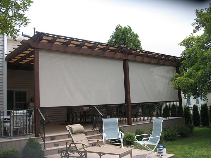Retractable Exterior Solar Screen Nationwide | Sunair Awnings