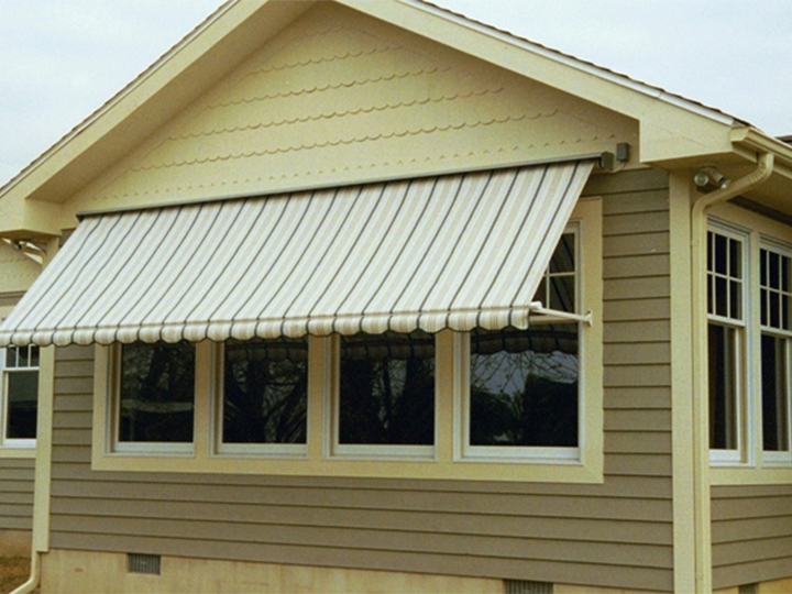 MAXI Large Window Awning & Retractable Window Awnings | Retractable Deck \u0026 Patio Awnings | SUNAIR